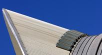 Detalle ménsula pluma del edificio - Santiago Calatrava