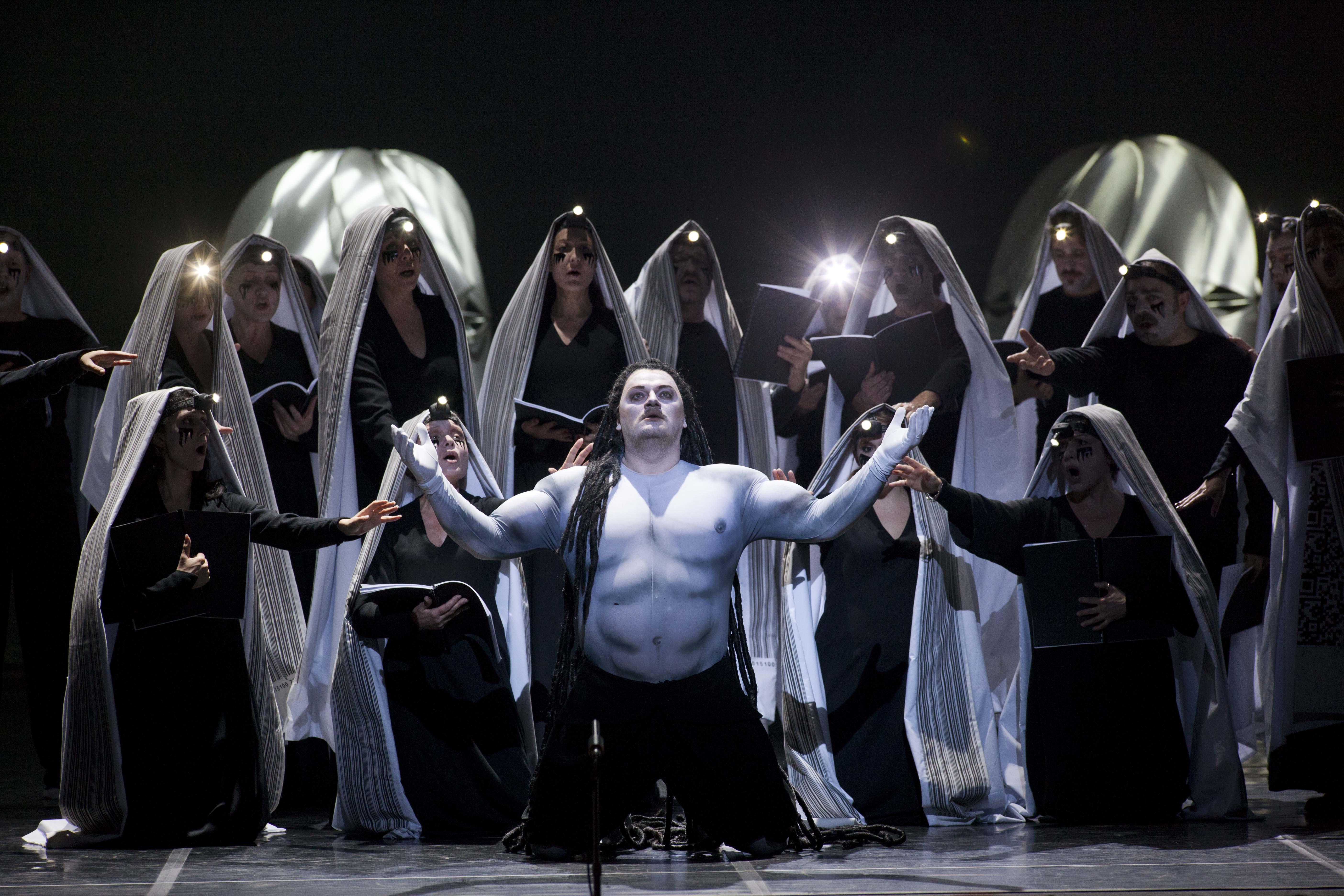 SAMSON ET DALILA Aleksandrs Antonenko(Sansone) Opera Roma,Stagione 2012-13 foto LellieMasotti©Teatro dell'Opera di Roma 4098