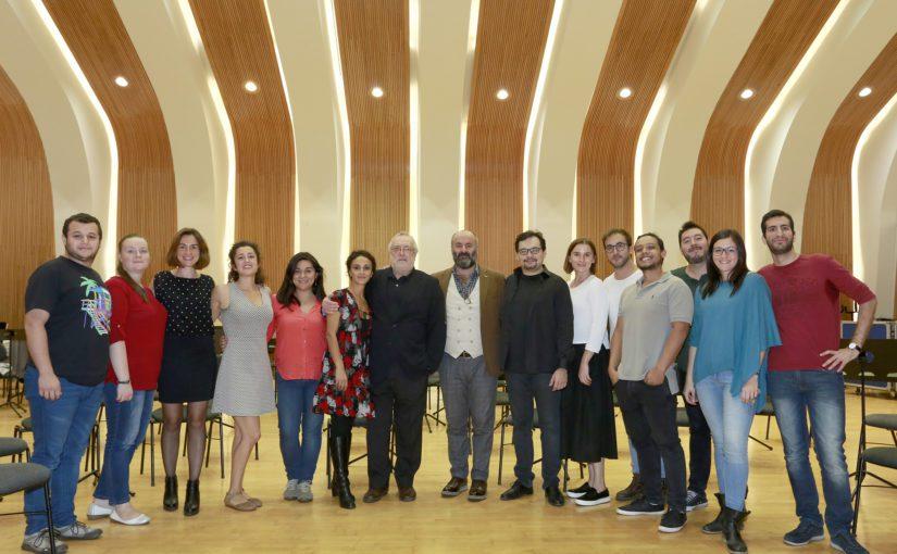 Jaume Aragall prepara el debut de la nueva promoción del Centre Plácido Domingo en el Auditori de Castelló