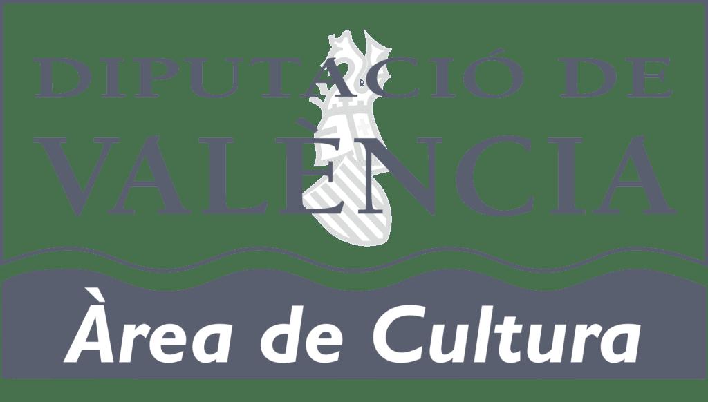 Logo cultura diputacio gris