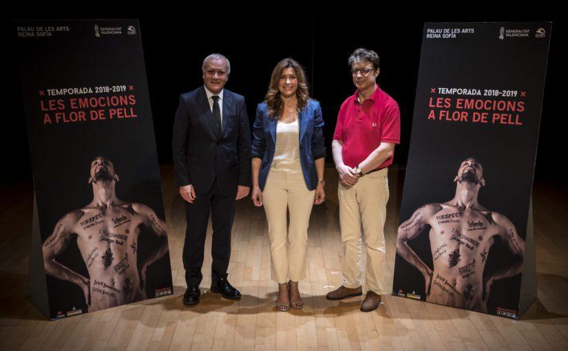 Les Arts apuesta por el gran repertorio lírico, el ballet clásico, la zarzuela y la tradición valenciana