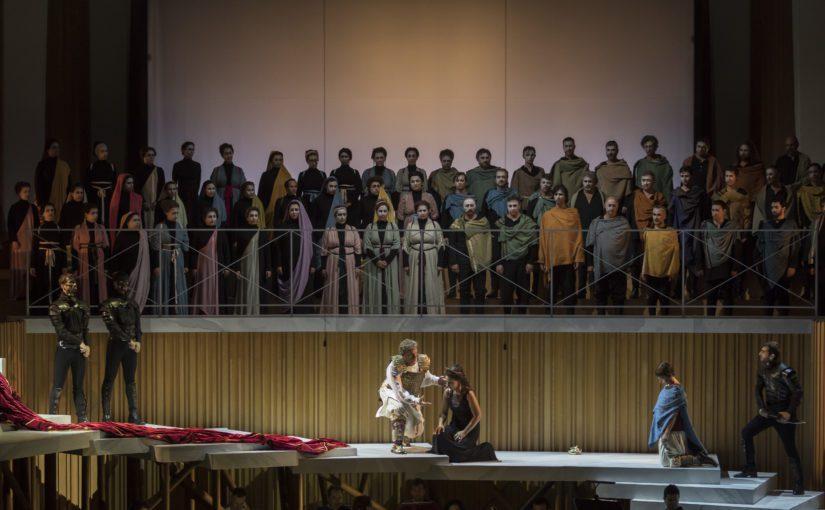 Les Arts estrena 'La clemenza di Tito', de Mozart, en versión semiescenificada