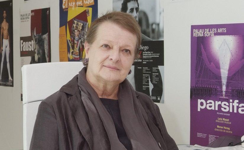 Les Arts lamenta la defunció de Helga Schmidt, primera Intendent i directora artística del teatre
