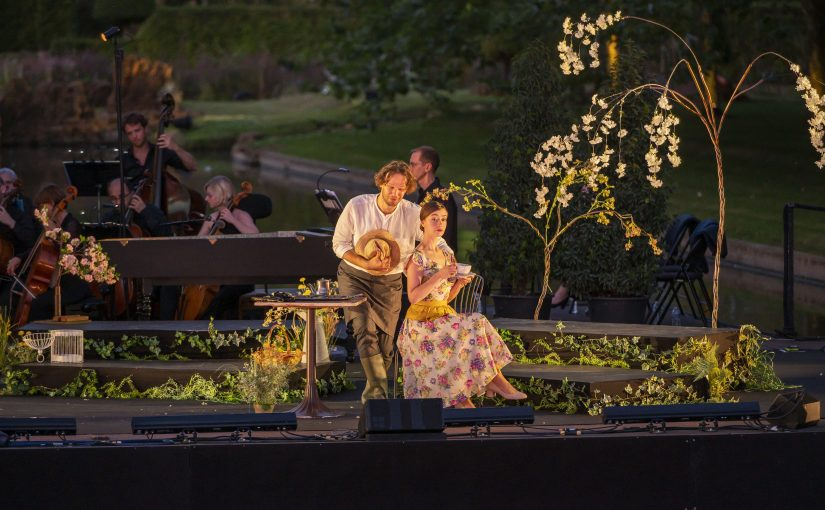 William Christie debuta a Les Arts amb 'La finta giardiniera', de Mozart, en versió semiescenificada